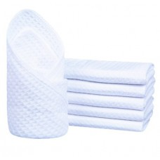 Microfiber Washcloth Waffle Weave Facial Cleansing Cloth Face Cloth and Body Cloths  13 Inchx13 Inch