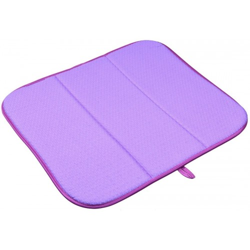 Microfiber Dish Mat Super Absorbent Kitchen Mat 16 Inchx18