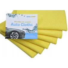 Multi-purpose Microfiber Car Cleaning Cloths Absorbent & Fast Drying Towels  16 Inchx16 Inch
