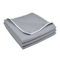 Microfiber Waffle Weave Kitchen Towels Dish Cloth 16 Inchx24 Inch 3 Pack
