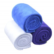 Microfiber Brushed Soft Comfortable Sports Towels Thicker Absorbent Yoga Gym Towels