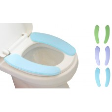 Toilet Seat Warmer Toilet Seat Cover Cushion Pads Paste-type Portable Washable 3Packs